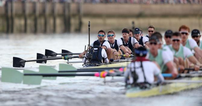 A 166-a cursă a universităţilor rivale, în proba de opt plus cârmaci, nu se va mai disputa duminică pe râul Tamisa care traversează Londra, fiind mutată la Ely, pe râul Great Ouse, din comitatul Cambridge.