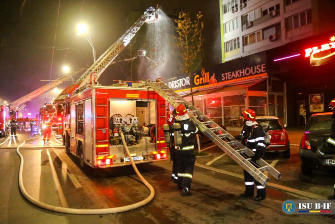Incendiu la cea mai celebră șaormerie din București