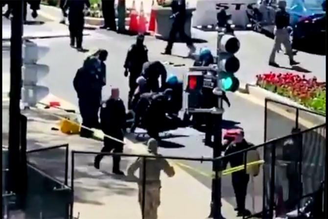 Un nou atac la Washington DC