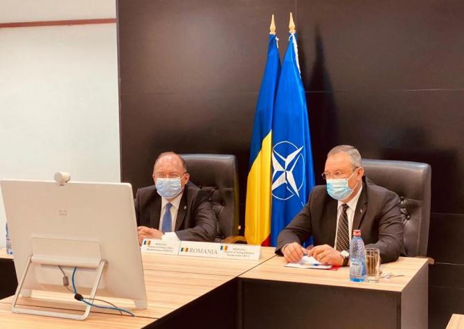Miniştrii afacerilor externe şi ai apărării aliaţi au adoptat o Declaraţie comună a Consiliului Nord-Atlantic prin care au decis încheierea Misiunii Resolute Support şi retragerea forţelor aliate începând cu 1 mai 2021.