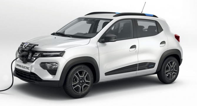 Dacia Spring, prima mașină electrică a producătorului român