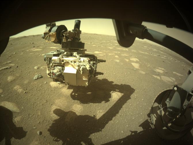 Roverul a descoperit o piatră neobișnuită pe Marte