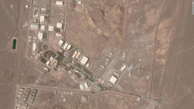 Complexul nuclear de la Natanz, Iran. Iranul a informat AIEA că intenționează să instaleze încă patru grupuri de centrifuge IR-4 la FEP