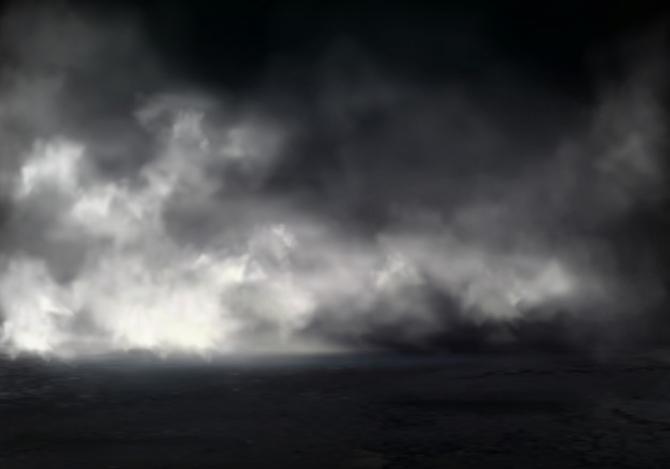 Un nor de cenuşă cauzat de erupţia unui vulcan este vizibil din spaţiu. Localnicii sunt evacuaţi