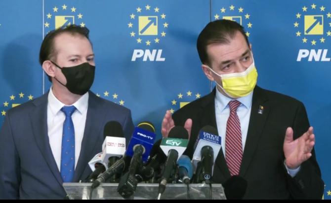 Ludovic Orban precizat că măsura i-ar discrimina între cei deja vaccinați.