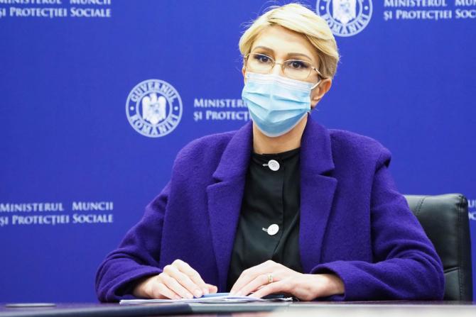 Este declarația ministrului Muncii, Raluca Turcan