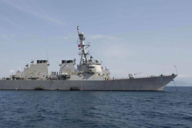 Statele Unite au renunţat la desfăşurarea a două nave de război în Marea Neagră săptămâna aceasta. /  Foto: USS Donald Cook