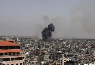 Gaza, bombardată de aviația israeliană / Foto: Gaza Post