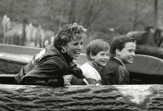 Prințesa Diana, Harry și William