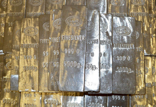 Prețul argintului a explodat pe burse