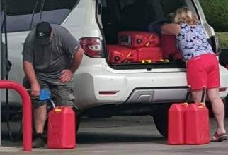Coasta de est a SUA a rămas fără benzină