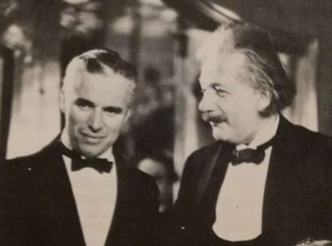 Conversație FASCINANTĂ între Albert Einstein și Charlie Chaplin