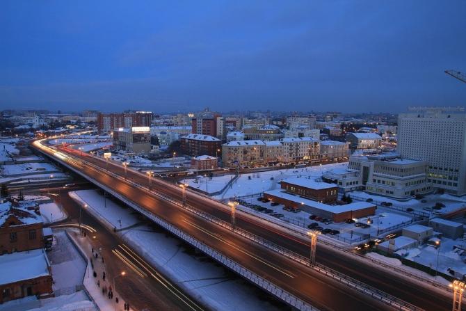 Orașul Omsk