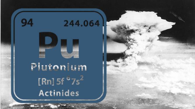 Plutoniul a fost utilizat în primele teste nucleare cât și în bomeba aruncată peste Nagasaki