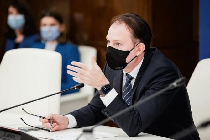 Florin Cîţu: Gradul de îndatorare al României nu e deloc mare, cum se spune