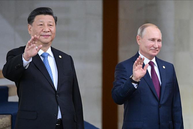 Xi Jinping și Vladimir Putin