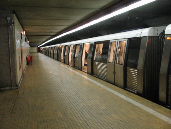 Stația de metrou Pipera este în reamenajare