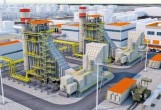 Eficiența centralei de cogenerare pe amestec de gaz și hidrogen de la Midia