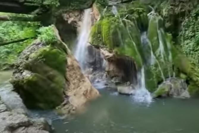 Cascada Bigăr s-a prăbușit sub propria greutate