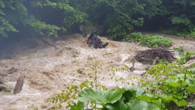 COD PORTOCALIU de inundații pe mai multe râuri din Transilvania