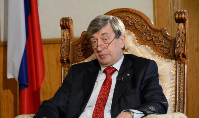 Ambasadorul Rusiei, Valery Kuzmin