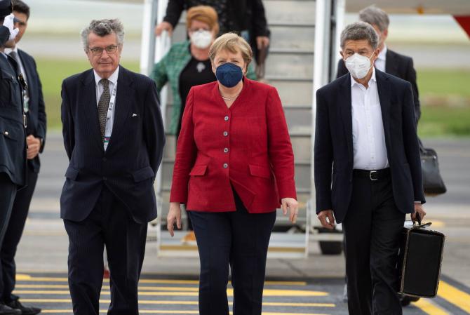 Printre multe alte subiecte, Merkel are și unul aparte