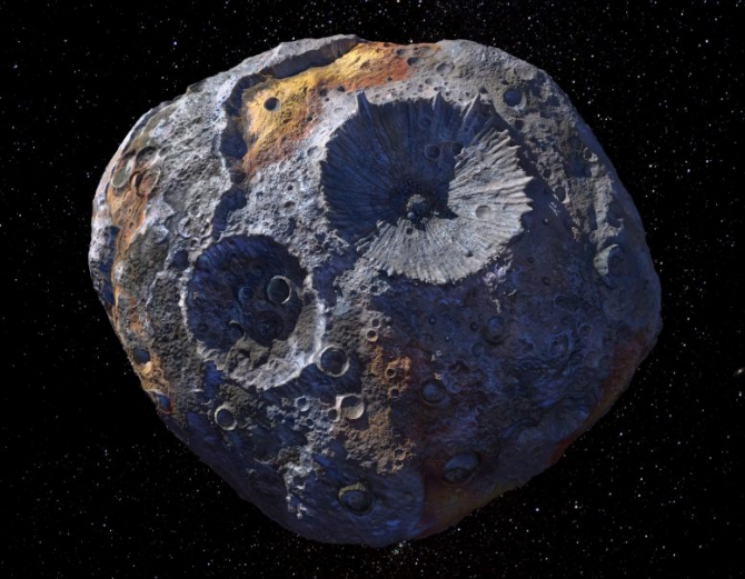 Asteroidul Psyche 16