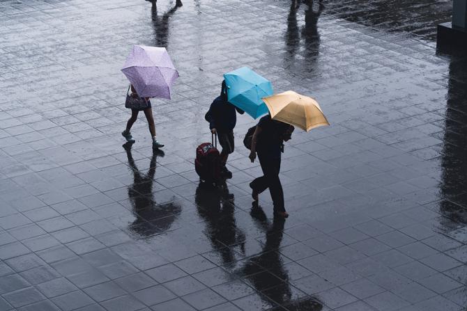 Meteorologii au emis o avertizare de furtună