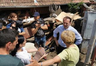 Premierul a fost, zilele trecute, într-o zonă afectată