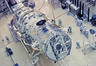 Telescopul Hubble / Foto: Lockheed Martin