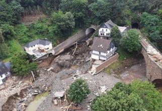 Germania a fost lovită de inundații neobișnuite