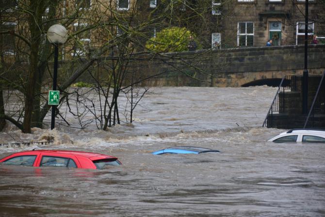 Inundații catastrofale, imagini incredibile