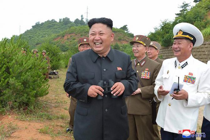 Kim Jng Un înainte să slăbească