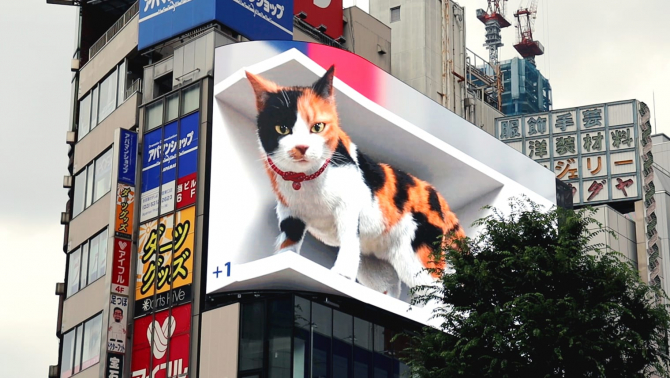 Reclama care a copleșit Tokyo