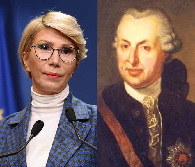 Raluca Turcan și Samuel Von Brukenthal