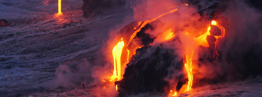 Hawaii, foc și apă
