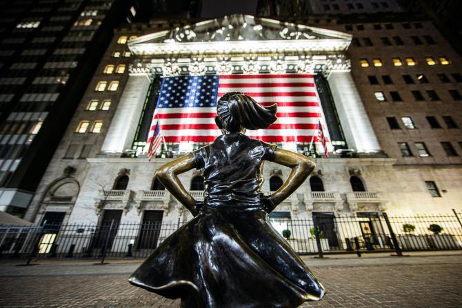 O zi euforică la Bursa de pe Wall Street