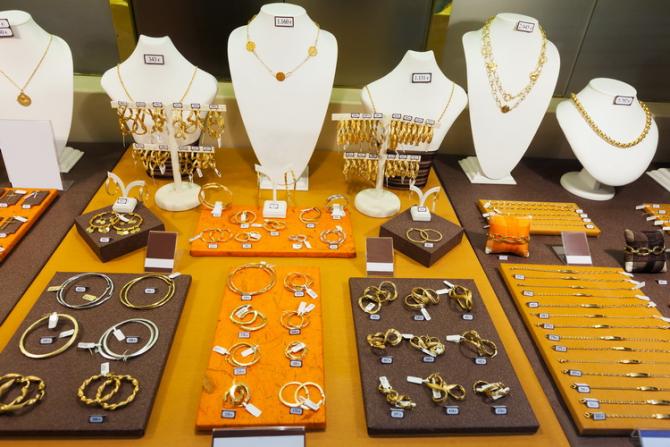 POlițiștii au confiscat mai multe kilograme de aur