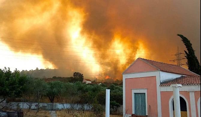 Incendiile fac ravagii în sudul Europei