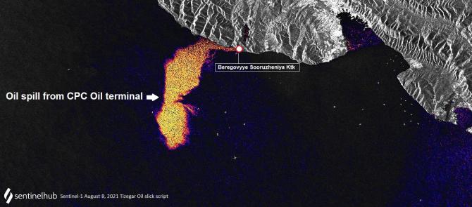 Deversarea uriașă de petrol din Marea Neagră