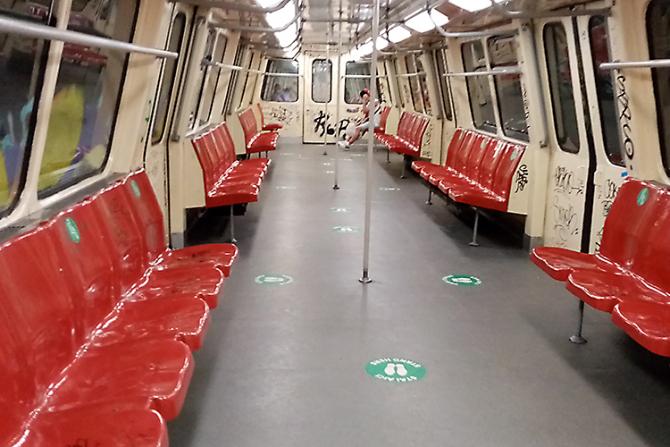 Metrou defect la Parcul Bazilescu