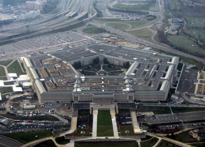 Schimb de focuri la Pentagon