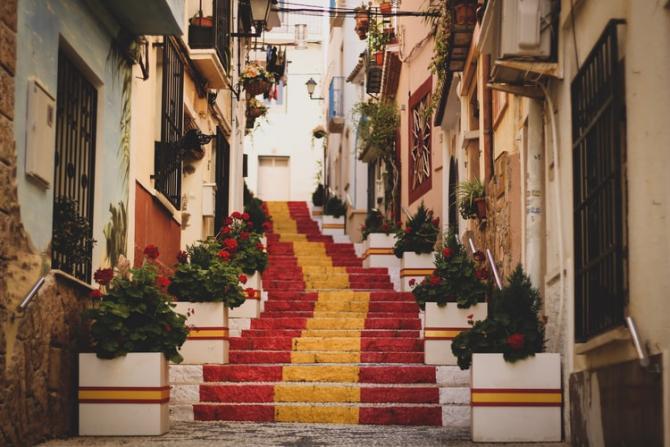 Avertizare de călătorie în Spania