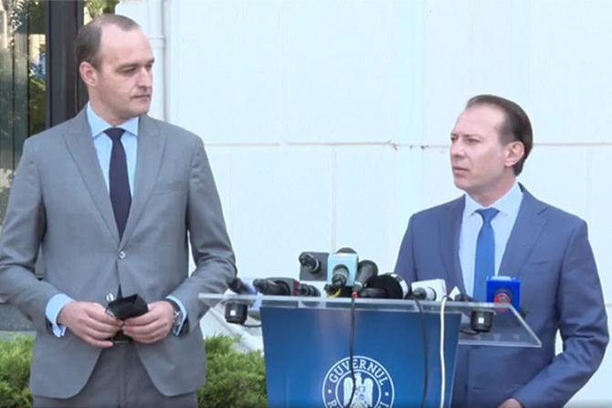 Dan Vîlceanu și FLorin Cîțu