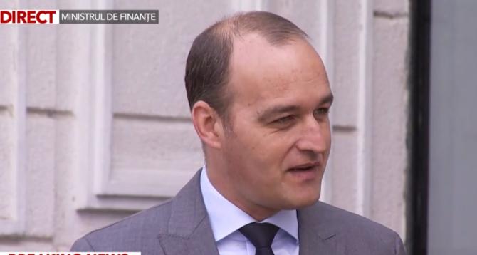 Noul ministru al Finanțelor a prezentat cifre și proiecte
