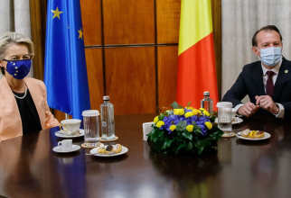 Președinta Comisiei Europene și premierul României
