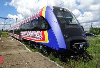 Capacitatea totală este de 164 de pasageri pe scaune la Clasa I (22) și Clasa a II-a (142).