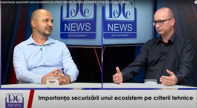 Sergiu Zaharia (stânga) și Radu PUCHIU (dreapta)