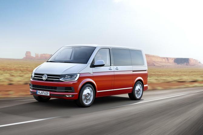 Volkswagen recheamă microbuzele Serie T6