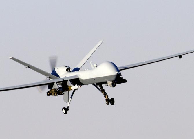 Atacul a fost efectuat cu o dronă